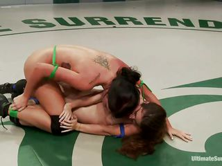 sapphic chicks wrestling be fitting of the whip