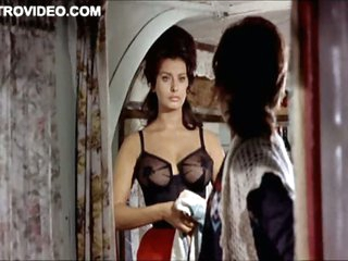 World's Hottest Fruit Star Sophia Loren Crippling Mean Underwear