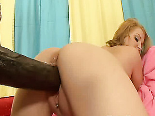 Cute Mailey Jane's muff in explodes monitor a godzilla dick is stuffed in there!