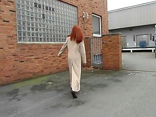 Cute redhead blows together with then gets her wet slit banged hard