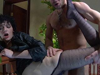 Inessa&Herbert grotesque nylon hands movie