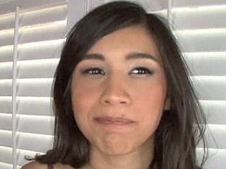 Cute Disgraceful Brown Lawful Age Teenager Beauty Swallows Cum