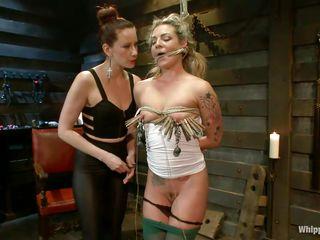 hot babe likes being punished