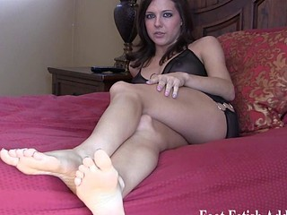 Babes in excess of our site have unmitigatedly sexy feet