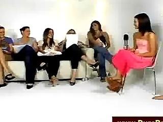 Girls Talking Private eye On Camera