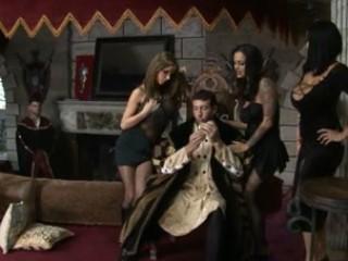 Angelina , Carmella & Nikki - The Royal Cock of 1469
