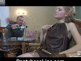 Judith&Herbert pantyhosers caught on camera