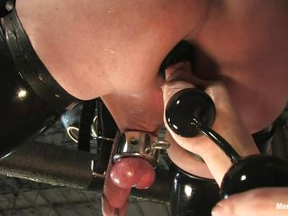 milf torturing a guy with pleasure