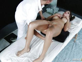smokin hot devilish object her pussy oiled and massaged