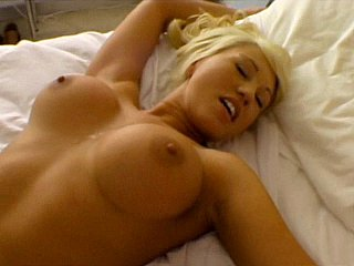 Well-endowed hot tow-headed maid gets fucked