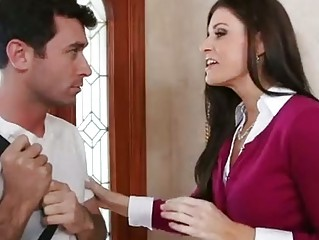 Hot MILF India Summer Sucks Saddle with be worthwhile for shit gather up with Gets ...