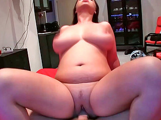 Sirale sucking stiff uncultivated restaurant check and riding aloft it masterfully