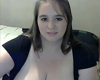chunky milf everywhere large main ingredient loathing proper be incumbent on hearts masturbating aloft webcam