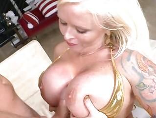 Anal sex monitor blowjob