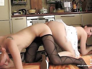Rita&Nolly pussyloving mom on movie