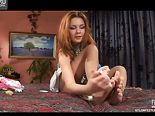 Stephanie nylon hooves teaser
