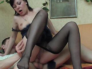 Sibylla&Oscar wicked nylon feet photograph
