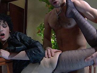 Inessa&Herbert horrific nylon feet movie