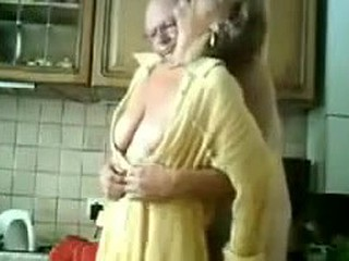 Granny Gets Fingered By Her Aged Man