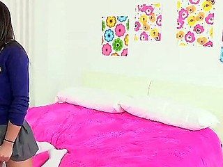 Attracting school explicit Giselle Leon is sure that she will get her brothers New Zealand penis