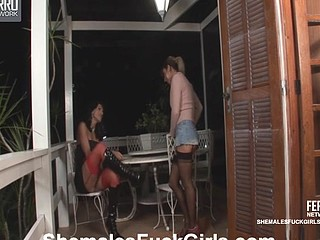 Marcia&Patricia shemale fucking hotty surpassing movie scene