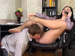 Gwendolen&Bertram grotesque nylon legs pic