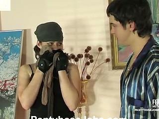 Gwendolen&Adam unusual hose job glaze