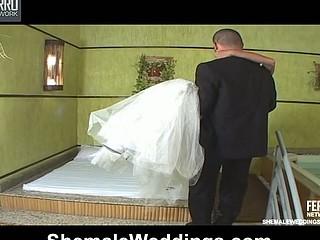 Marcela desirous shemale bride