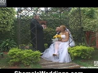 Alessandra proud shemale bride