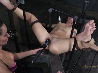 tied coupled with used like a sex toy