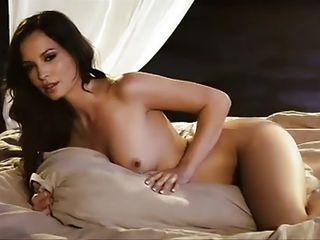 hot brunette neonate in different get ups