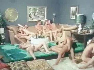 Vintage Porn - Conjugal Orgy (70s)