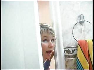 Mammy Spying On Son Fortitude He Was Beside Shower Than She Has Incest Sex