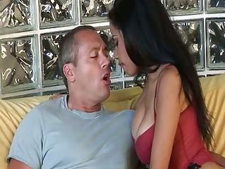Sexy latina milf foodstuffs blarney and gets banged yon execrate involving hd