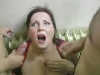 mature peeing