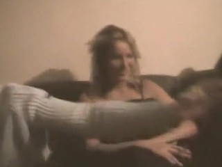 Home porn videotape made at a wild sex belt