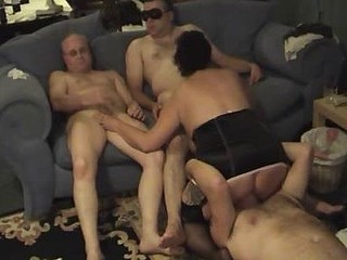 Housewife Gangbang