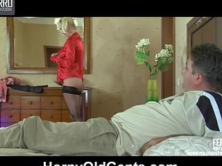 Natali&Frank daddy making love movie scene