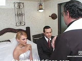 Milena marketable shemale bride