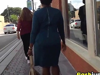 Following This Black Non-specific In A Dress