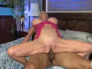 Hot Super Fair-haired Granny Cougar