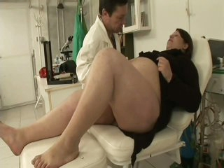 Pregnant BBW Banged At the end of one's tether Say no to Gynaecologist