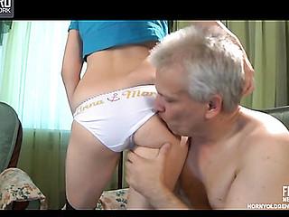 Cecilia&Caspar daddy sexual intercourse action