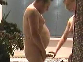 Classic fuck in the bathroom