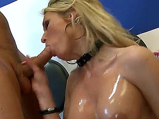 Blonde milf Laura Crystal gets eternal pounded away from hunk Mick Dispirited together with his eternal cock
