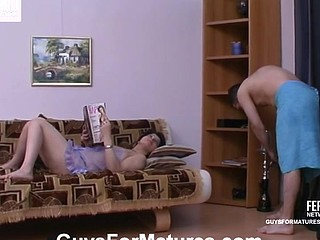 Christina&Monty nasty aged action